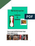 Conferencia de Capablanca - MI Raul Ocampo