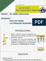 Diapositivas Ley 29783