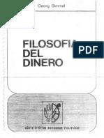 Simmel Georg Filosofia Del Dinero PDF
