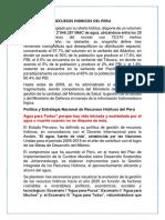 Recuesos Hidricos Del Peru (RESUMEN)