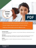 Call Center Customer Care Full 1