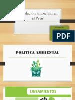 Legislación Ambiental en El Perú1