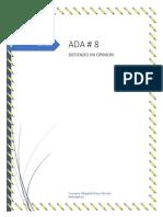 ADA 8 INFO