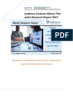 Global Amorphous Carbone-Silicon Thin Films Market Research Report 2017