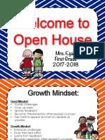 egan open house 2017-2018