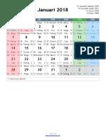 Kalender Masehi 2018 2