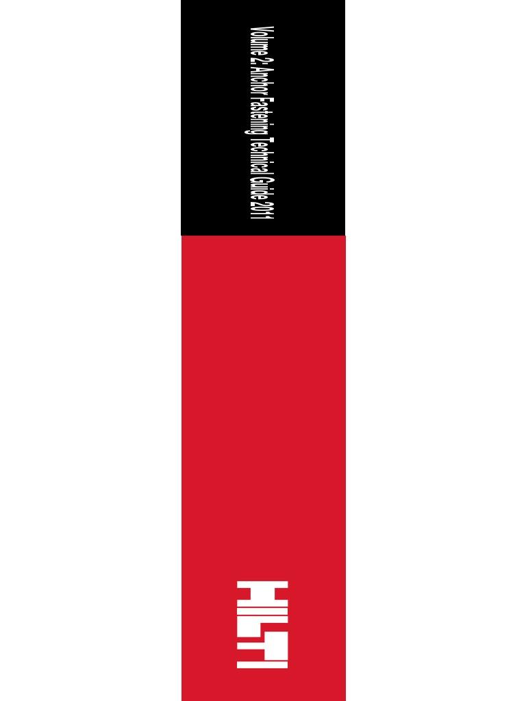 Hilti Vol_2_Anchor_Fastening_PTG_2011 pdf | Corrosion | Masonry