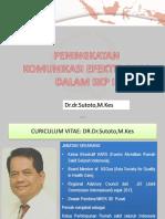 Peningkatan Komiunikasi Efektif Di Rs (Skp )