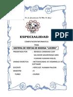 Bodeguita Lucero Informe Proyecto