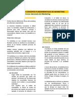 Lectura - Instroducción y Conceptos Fundamentales Del Marketing