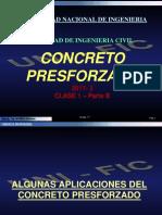 CONCRETO PRESFORZADO - CLASE 1 - parte B.pdf
