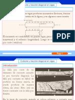 Cortante y Tracción diagonal en vigas - diapositivas