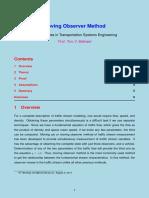Observer Metod