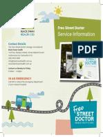 Freo Street Doctor Brochure