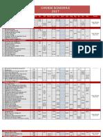Course Schedule Bexpert Indoprima 2017.