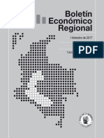 Boletín Económico Regional Centro - Trimestre I de 2017