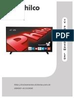 PH43E30DSGW LED - Manual de Serviço.pdf