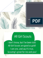 All Girl Scouts Yell