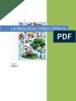 La Biologia Como Ciencia