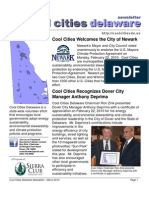 March 2010 Cool Cities Deleware Newsletter