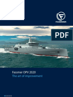 Fassmer Opv2020 Navy Vessels Technical Data