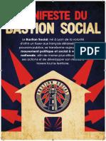 Manifeste du Bastion Social