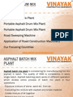 Asphalt Drum Mix Plant - Best for Road Construction