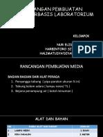Rancangan Pembuatan Media