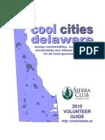 2010 VOLUNTEER GUIDE - Cool Cities - Energy Sustainabiltiy