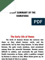 Story Summary of the Ramayana