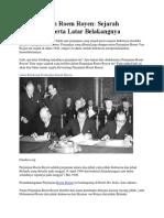 Isi Perjanjian Roem Royen Sejarah Lengkap Beserta Latar Belakangnya