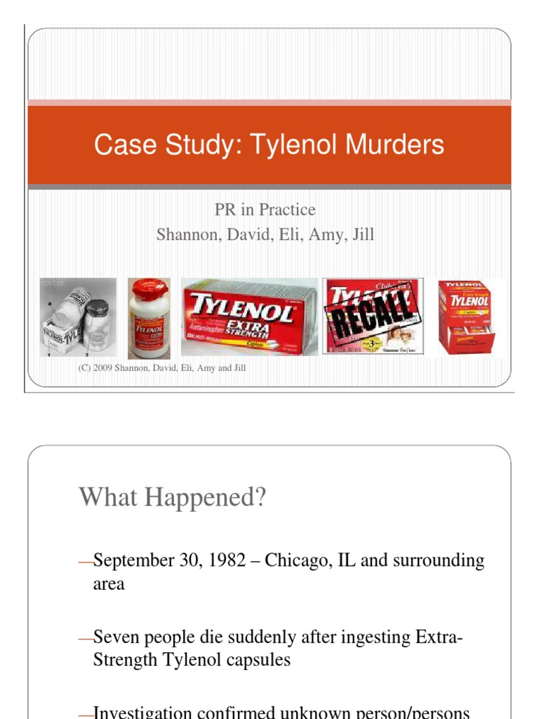 tylenol recall 1982 press release