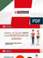 PPT Ley de Empleo Juvenil.