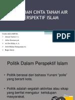 Politik Dan Cinta Tanah Air Dalam Perspektif Islam