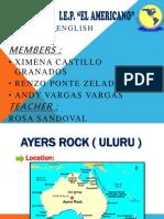 Ingles Ayers Rock .....