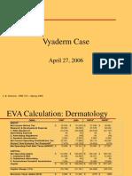 Vyaderm-Case Analysis 2006