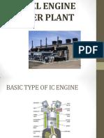 diesel engine power plant report