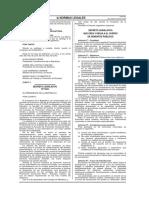 Decreto Legislativo 1024