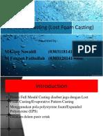 PPT Teknologi Full Mold Casting