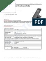 RunnTech F100 Proportional Accelerator Pedal