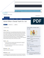 Home Office v Dorset Yacht Co. Ltd. Case Brief Wik