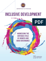 INCLUSIVE DEVELOPMENT- Harnessing the Virtuous Cycle of Growth and Good Governance