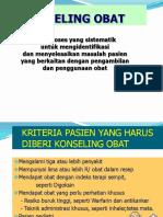 Konseling semester 6 pharmacy stikes MBG gorontalo