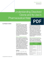 Dissolved Ozone Pharmaceutical Water Systems