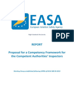 EASA Aviation Inspector Competencies Report