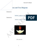 Syntax and Tree Diagram