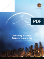 Breaking Barriers Transforming Lives Good Governance is Good Economics 2012 Annual Report