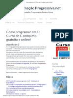 Como Programar Em C_ Curso de C Completo, Gratuito e Online!