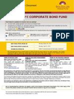 SID BSL Corporate Bond Fund