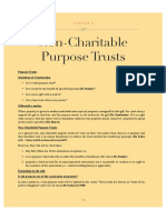 Trusts Non Charitable